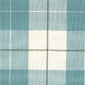 D3053 Hempstead Seaglass Plaid Upholstery Fabric By Roth & Tompkins