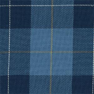 Blue Plaid Fabric Plaid Upholstery Fabric Buyfabrics Com