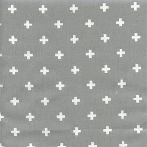 Mini Swiss Cross Storm Twill Contemporary Drapery Fabric by Premier Prints 30 Yard Bolt
