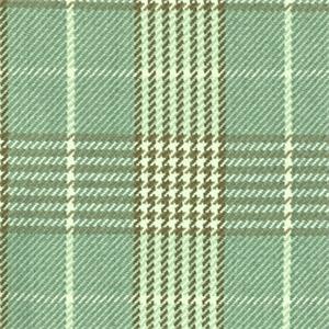 D2984 Newbury Plaid Surf Blue Green Plaid Upholstery Fabric By Roth