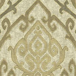 Zaya Natural Drapery Fabric by Belle Maison