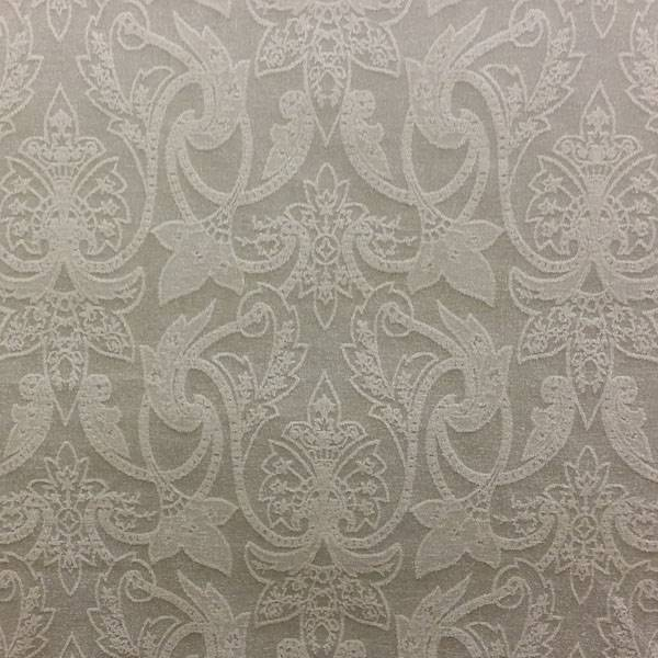 Barker Gray Floral Embossed Upholstery Fabric By Richloom Platinum Fabrics