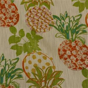 Pineapple Grove Floral Drapery Fabric By Richloom