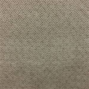 Bryson Mushroom Gray Cross Tee Design Upholstery Fabric