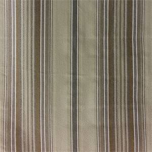 Salsa Linen Tan Cotton Stripe Upholstery Fabric