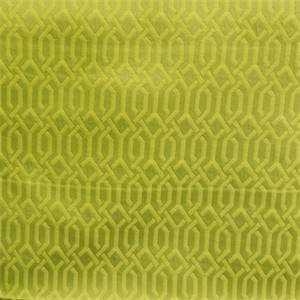 Interlace Mojito Green Woven Geometric Design Upholstery Fabric