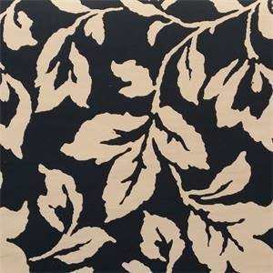 M9914 Lapis Blue Woven Floral Upholstery Fabric by Barrow Merrimac Fabrics