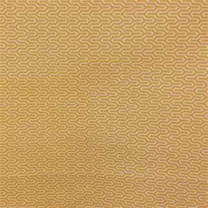 M9903 Sunshine Gold Horizontal Geometric Design Upholstery Fabric by Barrow Merrimac Fabrics