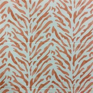 Reef Malibu Orange Coral Reef Design Drapery Fabric