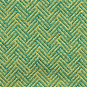 Thatch Oasis Green Herringbone Upholstery Fabric