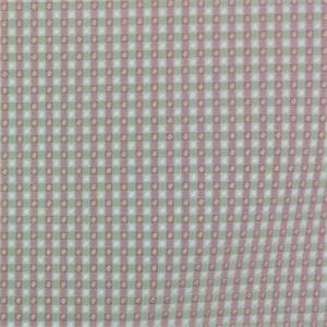 Colburn Cantalope Fushcia Check Drapery Fabric