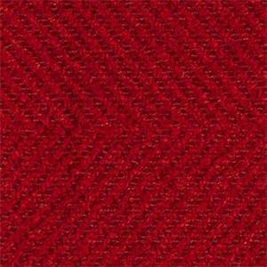 Jumper Scarlet Red Herringbone Upholstery Fabric