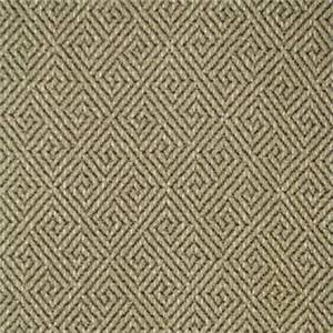 Turnstile Flax Beige Greek Key Upholstery Fabric