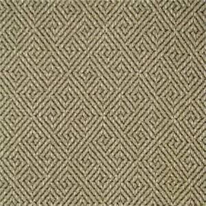 Turnstile Flax Beige Greek Key Upholstery Fabric