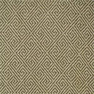 Turnstile Flax Beige Greek Key Upholstery Fabric 57788