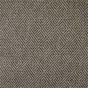 Turnstile Pewter Gray Greek Key Upholstery Fabric 57790