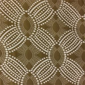 Timezone Bark Brown Dot Geometric Upholstery Fabric