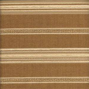 Sampler Cork Brown Horizontal Stripe Upholstery Fabric