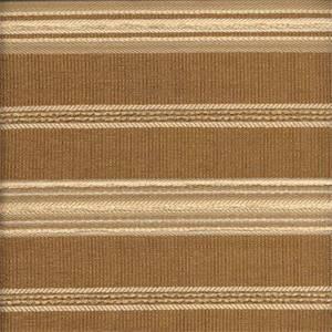 Sampler Cork Brown Horizontal Stripe Upholstery Fabric
