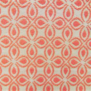 Veleta Macaroon Red Foral Upholstery Fabric