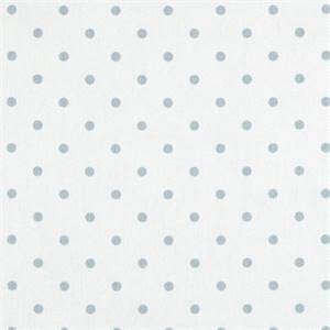 Mini Dot White Weathered Blue Drapery Fabric by Premier Prints 30 yd Bolt