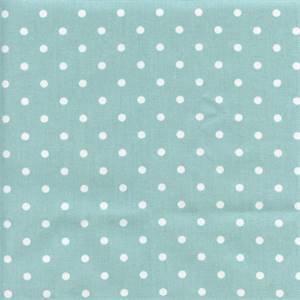 Mini Dot Canal White Twill Drapery Fabric by Premier Prints 30 Yard Bolt