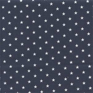 Mini Star Blue Cotton Drapery Fabric by Premier Prints 30 Yard Bolt