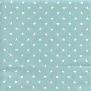 Mini Star Coastal Blue Cotton Drapery Fabric by Premier Prints 30 Yard Bolt