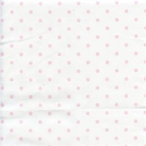 Mini Dot White Bella Twill Drapery Fabric by Premier Prints 30 Yard Bolt