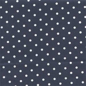 Mini Dot Blue White Drapery Fabric by Premier Prints 30 yard Bolt