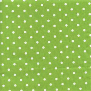 Mini Dot Chartruese White Drapery Fabric by Premier Prints 30 Yard Bolt