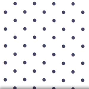 Mini Dot White Blue Twill Drapery Fabric by Premier Prints 30 Yard bolt