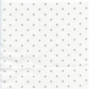 Mini Dot French Grey Twill Drapery Fabric by Premier Prints 30 Yard Bolt