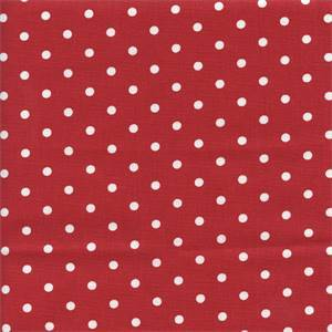 Mini Dot Lipstick Drapery Fabric by Premier Prints 30 Yard Bolt