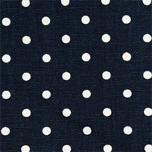 Mini Dot Premier Navy Drapery Fabric by Premier Prints 30 Yard Bolt
