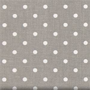Mini Dot Storm White Drapery Fabric by Premier Prints 30 Yard Bolt