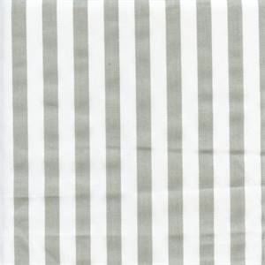 Basic Stripe Snowy Grey Twill Cotton Drapery Fabric by Premier Prints 30 Yard Bolt