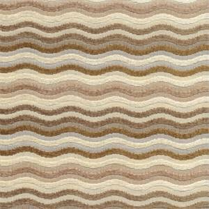 Zillow Camel Tan Wavy Chenille Line Latex Backed Upholstery Fabric by Swavelle Mill Creek Fabrics