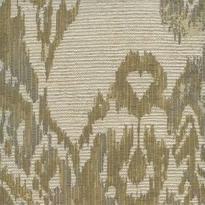 Kishori Goldenrod Gold Woven Ikat Design Upholstery Fabric by Swavelle Mill Creek