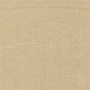 Show Stopper Sunglow Gold Subtle Herringbone Drapery Fabric by P Kaufmann Fabrics