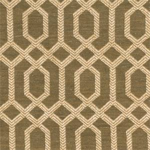Parquet Charcoal Gray Geometric Upholstery Fabric