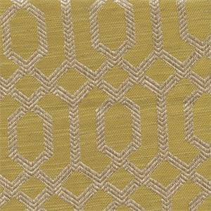Parquet Maize Gold Geometric Upholstery Fabric