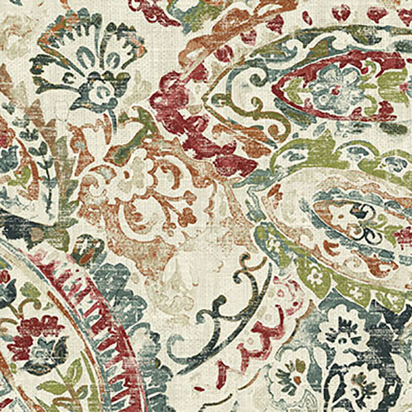 Remi Spice Drapery Fabric By Belle Maison 58948