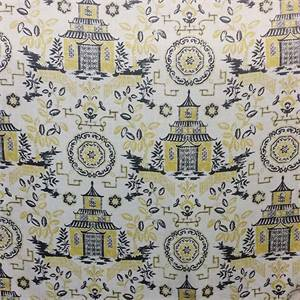 Teahouse Canary by Richloom Platinum Fabrics