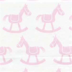 Rocking Horse White Bella by Premier Prints Fabrics 30 yd Bolt
