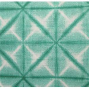 DP03111 01 Washed-Look Geometric Sea Green