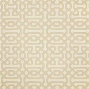 Fretwork Flax 45991-0001 by Sunbrella Fabrics