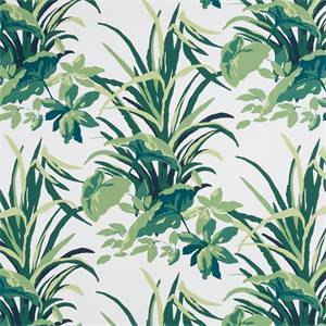 Bermuda Bay Palm 248091 Drapery Fabric by Robert Allen