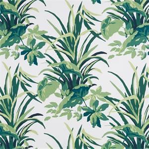 Bermuda Bay Palm 248091 Drapery Fabric by Robert Allen