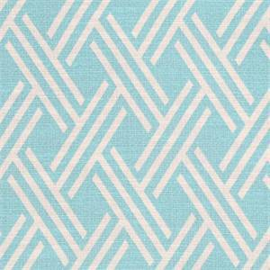 Crowley Sussex Aqua Drapery Fabric By Swavelle